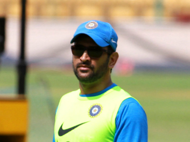 File photo of MS Dhoni. Solaris