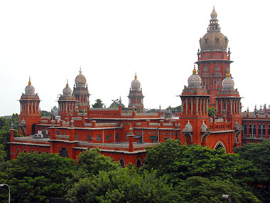 A file photo of madras High Court. Image credit: Wiki commons