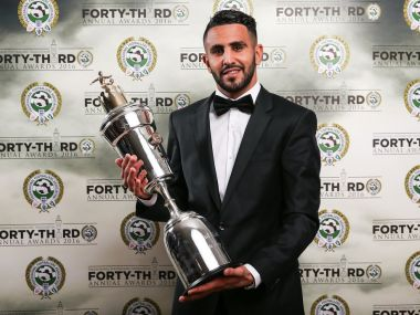 Leicester City's Riyad Mahrez was a superstar for the team in 2015/16 season. Image Courtesy: PFA Twitter