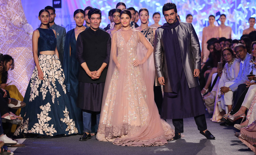 Manish Malhotra presents his collection on the opening night of LFW S/R 2016