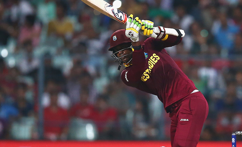 Marlon Samuels. Getty Images