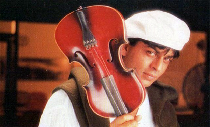 Shah Rukh Khan in a still from Meri Mehbooba song in Pardes