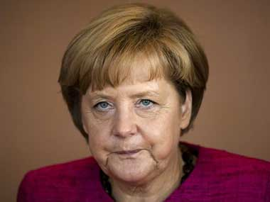 German Chancellor Angela Merkel. AP