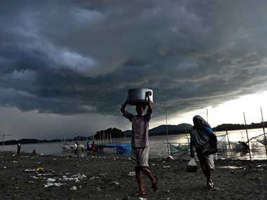 A weakening El Nino is one of the reasons behind the IMD forecast for an 'above normal' monsoon. AFP