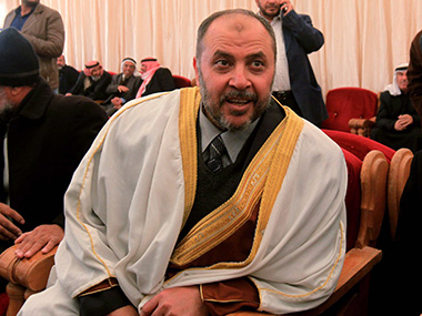 Zaki Bani Rsheid, deputy head of the Muslim Brotherhood in Jordan. AFP