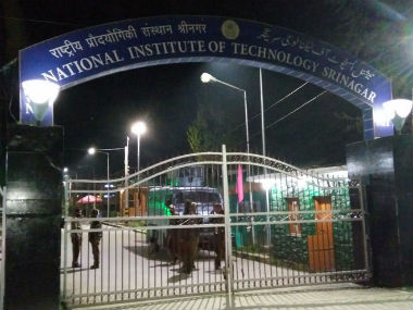 The entrance gate to NIT. IBN Live