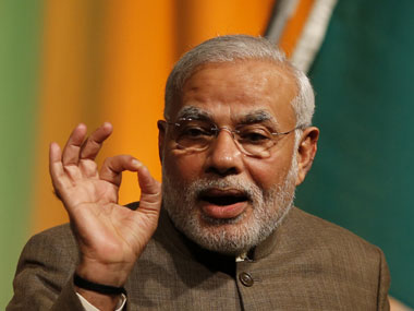 Modi alleges that Mamata 'mislead people on development'. Reuters