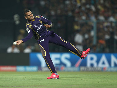 File photo of Kolkata Knight Riders spinner Sunil Narine. Photo by: Deepak Malik / SPORTZPICS / IPL