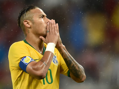 File photo of Brazilain star Neymar. AFP