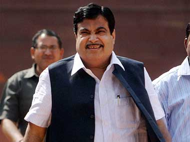 File image of Union Minister Nitin Gadkari. PTI
