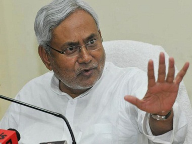 Nitish Kumar. Image from IBNlive