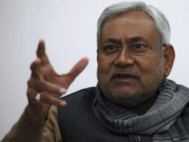 File photo of Nitish Kumar. Reuters