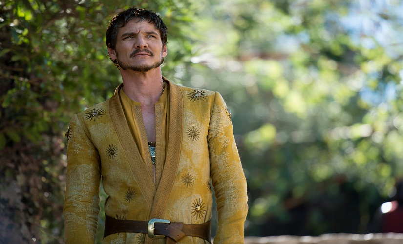 Pedro Pascal as Prince Oberyn Martell in Game of Thrones. The actor has now been roped in for the Kingsman sequel.