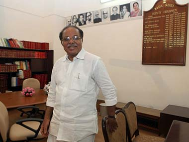 A file photo of PJ Kurien. AFP