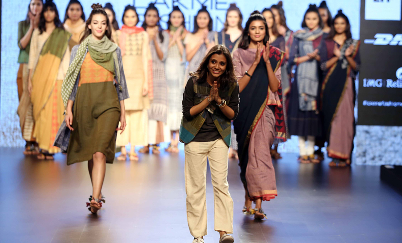 Designer Paromita Banerjee showcases her line at LFW S/R 2016