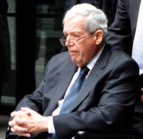 Former U.S Speaker Hastert was sentenced to 15 months in prison in hush money case intended to cover up sex abuse allegations stemming from the time he was a high school wrestling coach. Reuters
