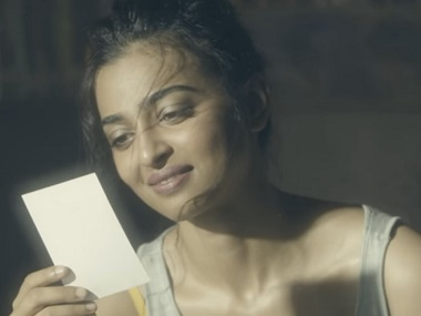 Radhika Apte in Unblushed. Screengrab from YouTube