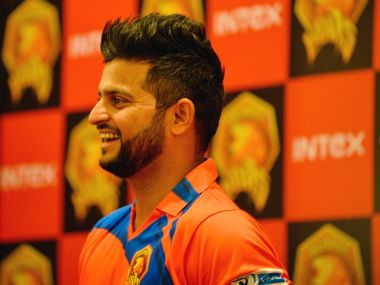 Gujrat Lions captain Suresh Raina. AFP