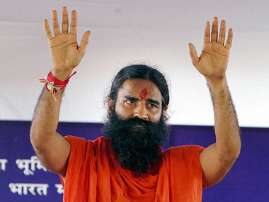Ramdev Baba. File photo. PTI