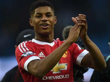 File image of Manchester United's Marcus Rashford. AFP