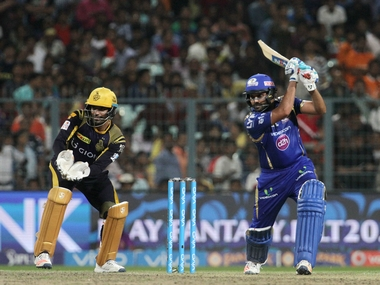 Rohit Sharma continued his romance with Eden Gardens in MI win. BCCI