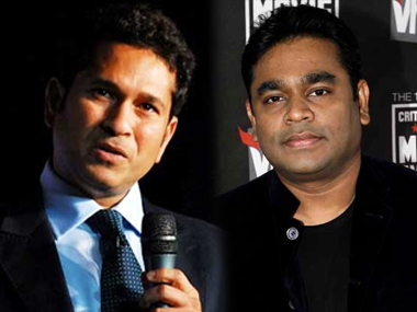 Sachin Tendulkar and AR Rahman. News 18