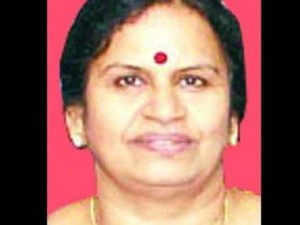 Sarada Mohan of the CPI