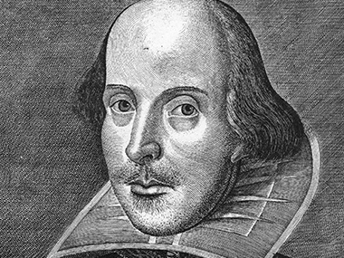 William Shakespeare. GettyImages