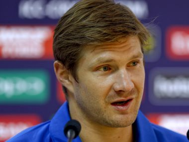 File photo of Shane Watson. AP