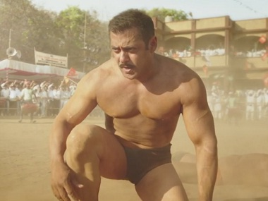 Salman Khan in 'Sultan'. Screen grab from YouTube