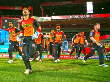 Sunrisers Hyderabad players. BCCI