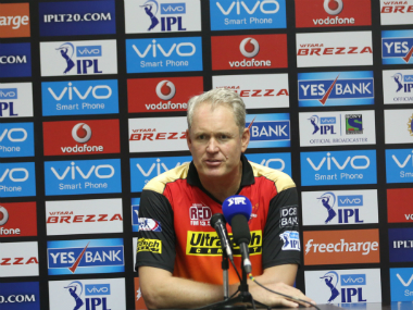 Sunrisers Hyderabad coach Tom Moody. BCCI
