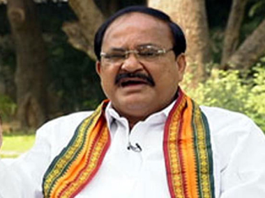 Venkaiah Naidu. File photo. IBNLive