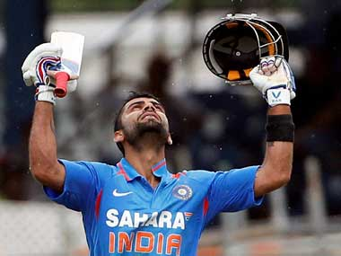 File photo of India Test skipper Virat Kohli. PTI