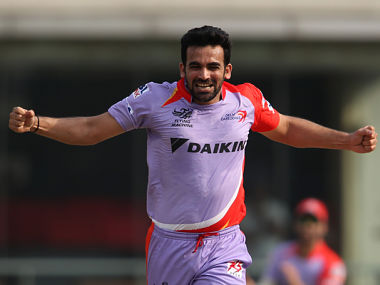 Zaheer Khan has been given charge of captaining Delhi Daredevils. IPL