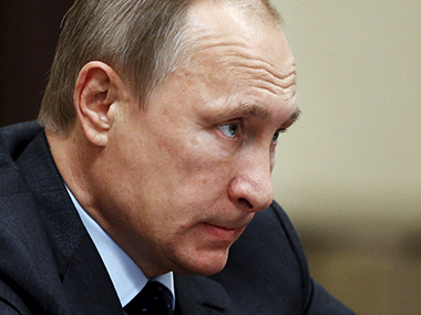 File photo of Russian President Vladmir Putin. Reuters