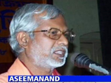Malegaon blasts accused Swami Aseemanand. IBNLive