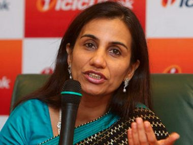 A file photo of Chanda Kochhar. PTI