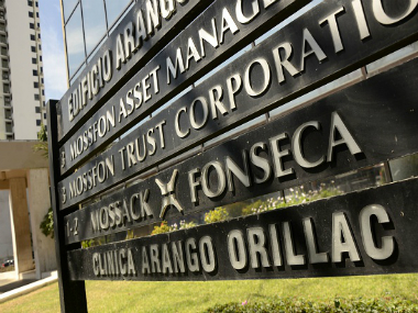 Mossack Fonseca law firm offices in Panama City. Getty Images
