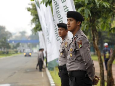Indonesian police. Representational image. Reuters