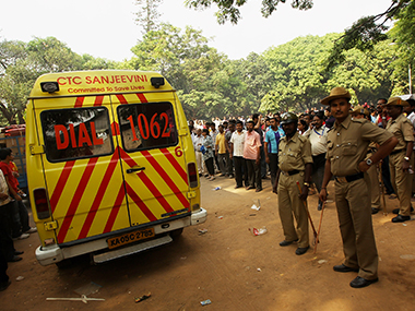 Karnataka police. File photo. Getty images