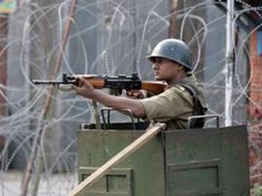 A security personnel in Kashmir. Representational image. Reuters