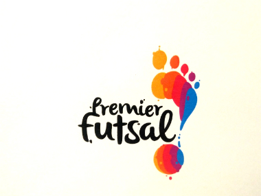 Official logo of the proposed Premier Futsal League.
