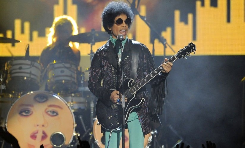 File image of Prince performing at the Billboard Music Awards at the MGM Grand Garden Arena in Las Vegas, in 2013. AP