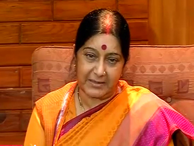 Sushma Swaraj. File photo. IBNLive