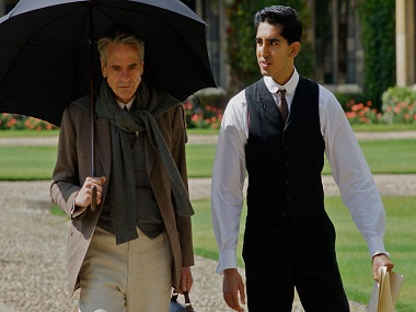 A still from the Srinivasa Ramanujan biopic 'The Man Who Knew Infinity'