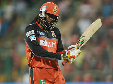 Royal Challengers of Bangalore's Chris Gayle. AFP