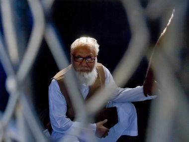 File photo of Motiur Rahman Nizami. AFP
