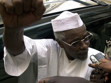 Former Chad President Hissene Habre. File photo. Reuters