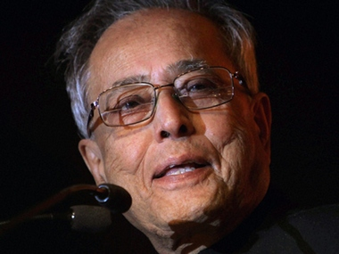 File photo of Pranab Mukherjee. Image courtesy - CNN News18